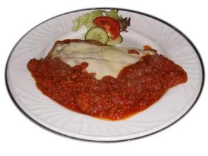 Cava Restaurant : Escalope Bolognaise