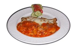 Cava Restaurant : Escalope Boscaiola