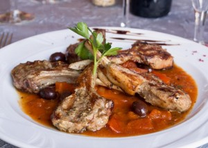 Il Trulletto - Restaurant  & Pizzeria : Côte d'agneau tomate