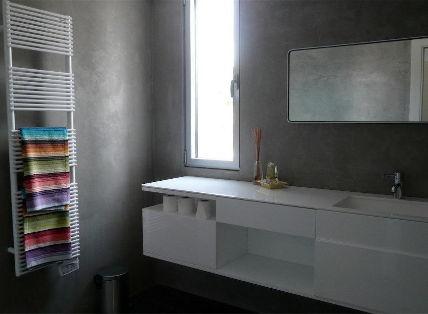 Douche, Salle de bains